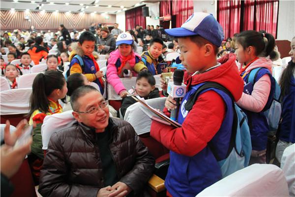 新华小记者走进武义艺术教育盛会