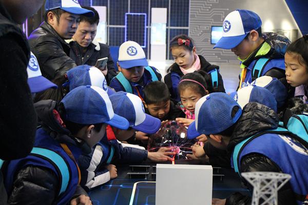 了解光伏发电 探秘智慧能源——新华小记者走进秀洲光伏科技馆